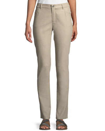 Thompson Curvy Slim-Leg Jeans