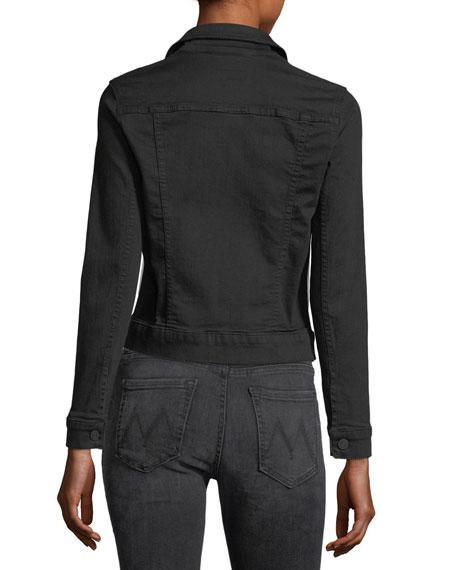 Pocket Bruiser Button-Front Denim Jacket