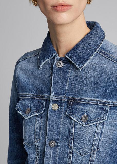 Mya Button-Down Denim Jacket