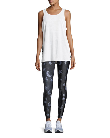 To The Moon and Back Tall-Band Full-Length Leggings