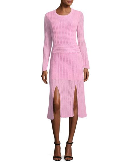 Tabula Rasa MINERAS CREWNECK KNIT FITTED DRESS