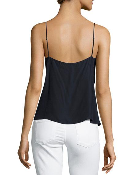 Lucy Matte Silk Camisole Top