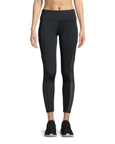 Rhys Mesh Cropped Pocket Leggings