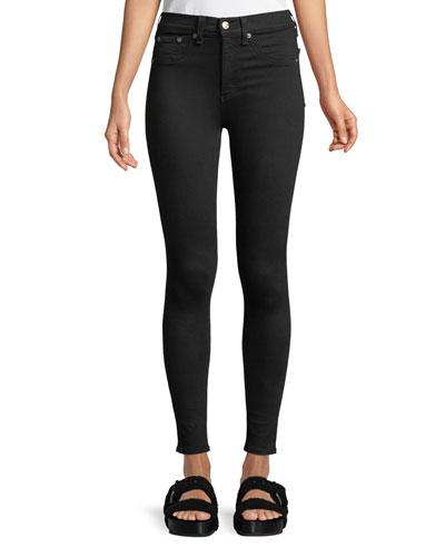 High-Rise Skinny-Leg Ankle Jeans
