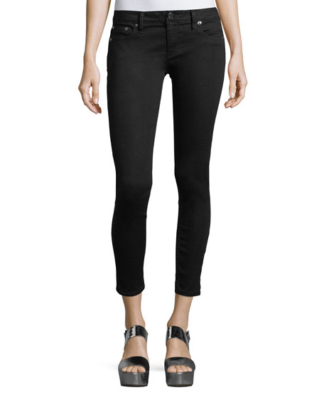 Ao.la GOOD LOW-RISE SKINNY ANKLE JEANS