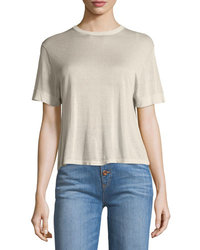 Clarence Short-Sleeve Knit Tee