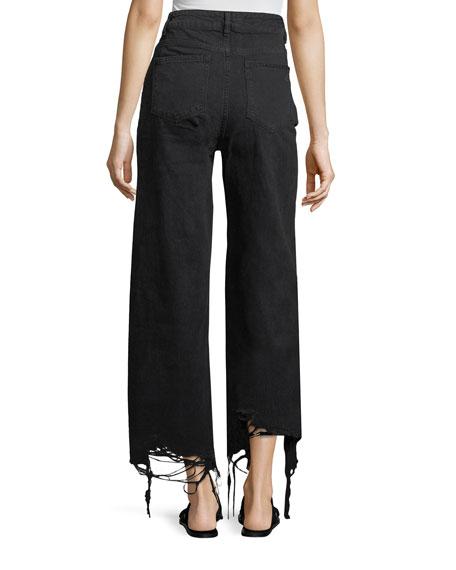Hepburn High-Rise Wide-Leg Jeans