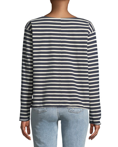 Simple Mariniere Long-Sleeve Shirt