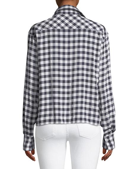 Charlie Gingham Jacquard Shirt