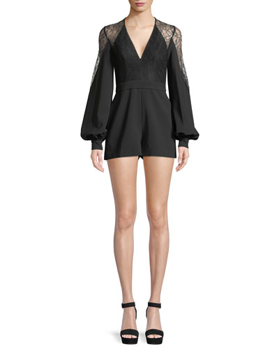 Bertine Long-Sleeve Romper