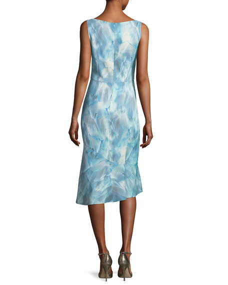 Yirma Graphic-Print Sleeveless Dress
