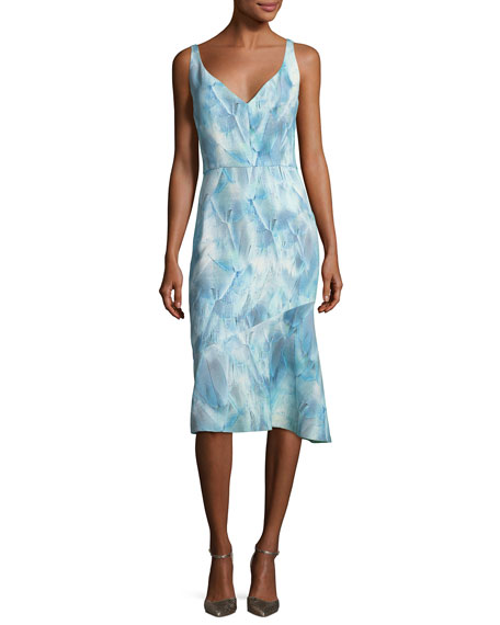 Yirma Graphic-Print Sleeveless Dress