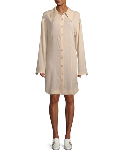 Reuben Rayon/Linen Shirtdress
