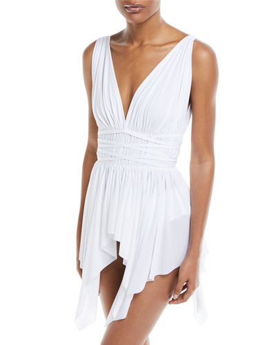 Goddess One-Piece Swimdress