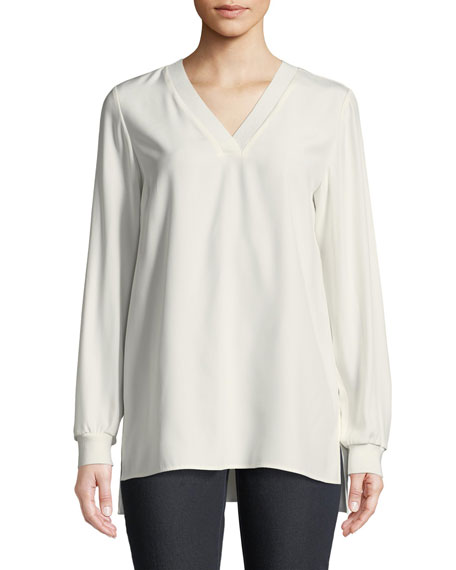 Wyatt Matte Silk Blouse
