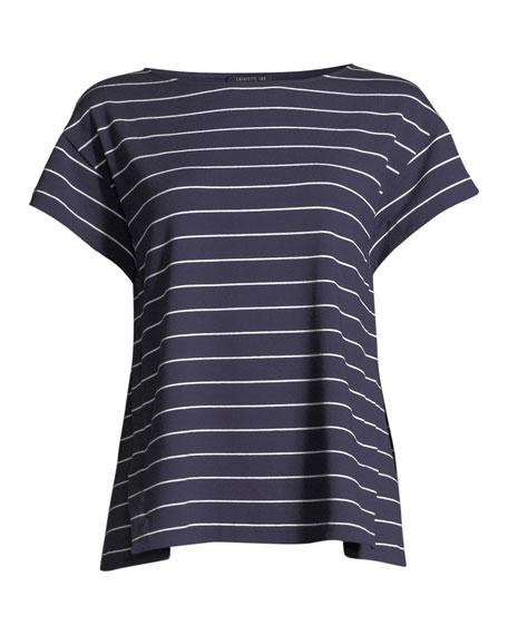 Ella Mulberry Striped Top