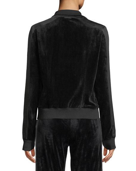 Zip-Front Reversible Posh Track Jacket
