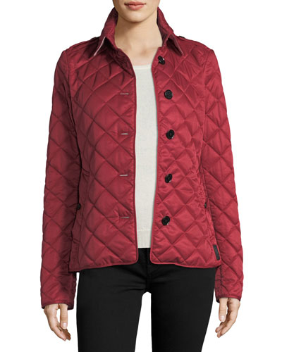 Frankby Quilted Jacket  Parade Red