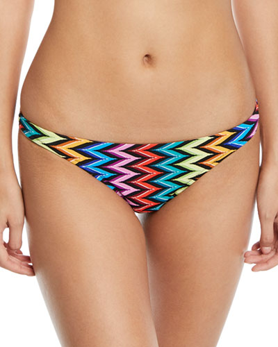 St. Lucia Printed Bikini Swim Bikini Bottom