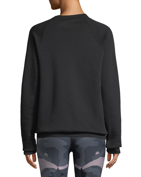 Swarovski® Bolt Raglan Sweatshirt