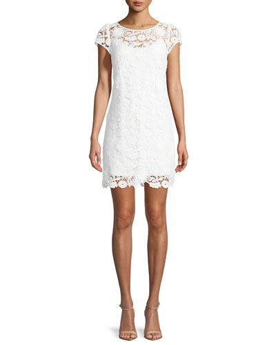 Chloe 3D Lace Dress