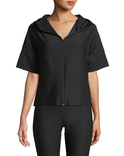 Power Fit Short-Sleeve Jacket