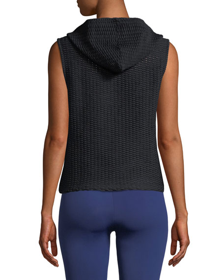 Cullen Hooded Pullover Vest