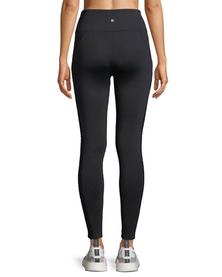 Dixon Side-Panel Full-Length Performance Leggings