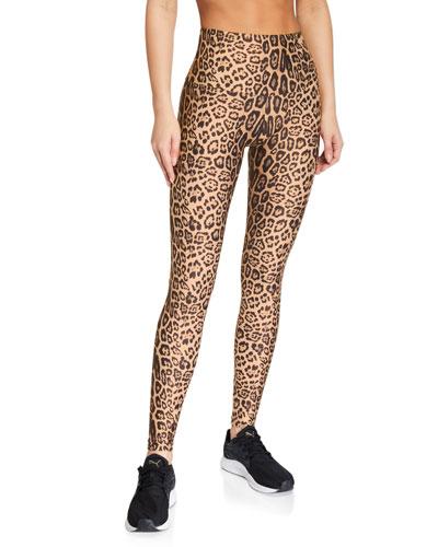 High-Rise Leggings  Leopard