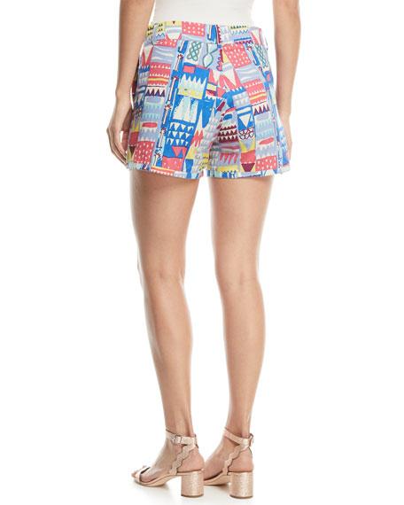 Afrika Flat-Front Shorts