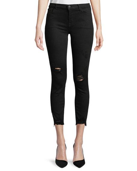 b2714cea481f15 J Brand 835 Mid-Rise Skinny Capri Jeans