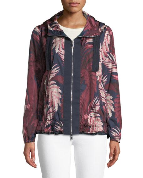 Morion Floral Zip-Front Jacket