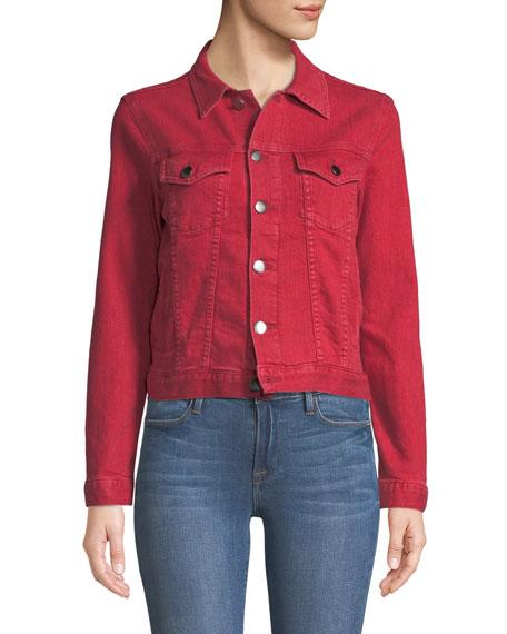 d25b89ba449 FRAME Le Vintage Button-Down Denim Jacket