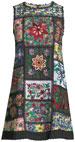Marcelina Sleeveless Embroidered Tunic Dress