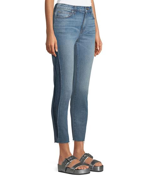 Carnac Side-Panel Crop Skinny Jeans