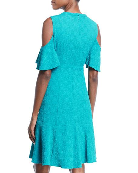 Sweet Nothing Cold-Shoulder Dress