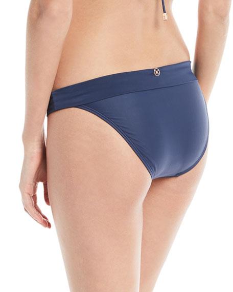 Midnight Bia Full Solid Swim Bikini Bottoms