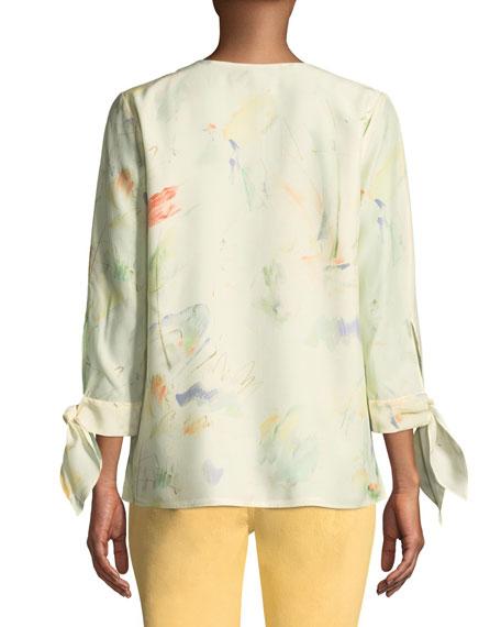 Blair Modern Muse on Silk Blouse