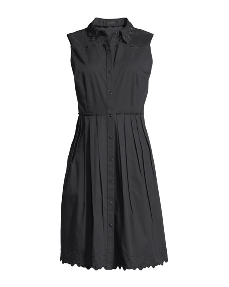 Samiyah Poplin Sleeveless Dress