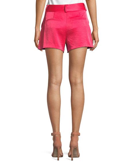 Cady High-Waist Shorts