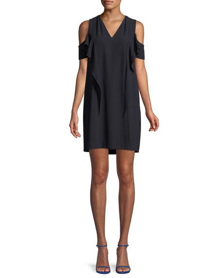 Micaela Cold-Shoulder Mini Dress