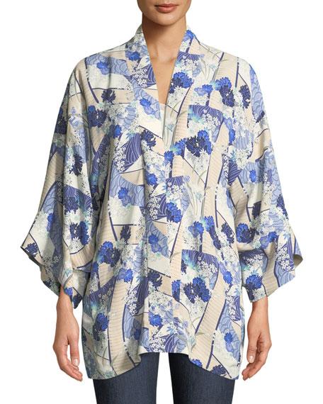 Drew Open-Front Kimono