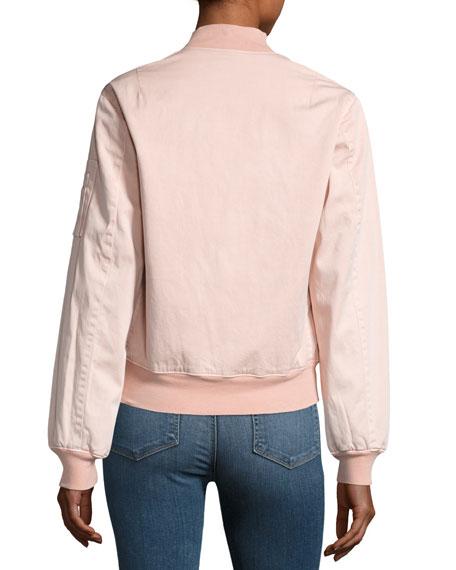 Gene Bomber Jacket, Pink