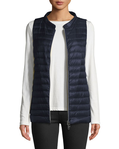 Classic Channel-Quilt Nylon Vest