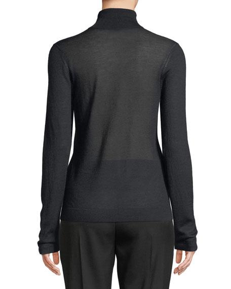 Cashmere Long-Sleeve Turtleneck