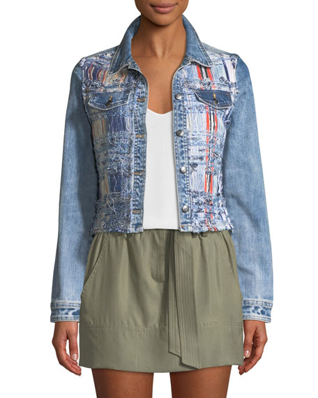 Gloria Boucle/Denim Jacket