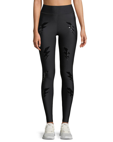 High-Rise Bolt Leggings