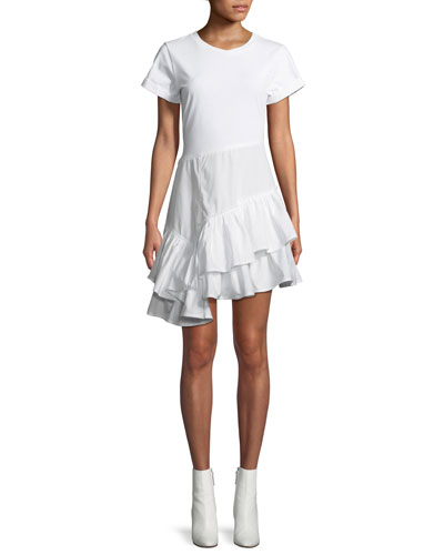 Flamenco Cotton T-Shirt Mini Dress