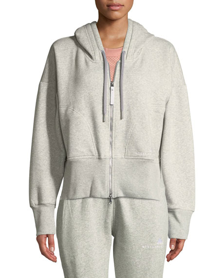 Essentials Zip-Front Cotton Fleece Hoodie