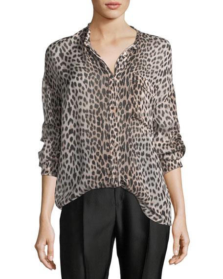 Savage Vanity Silk Oversized Shirt